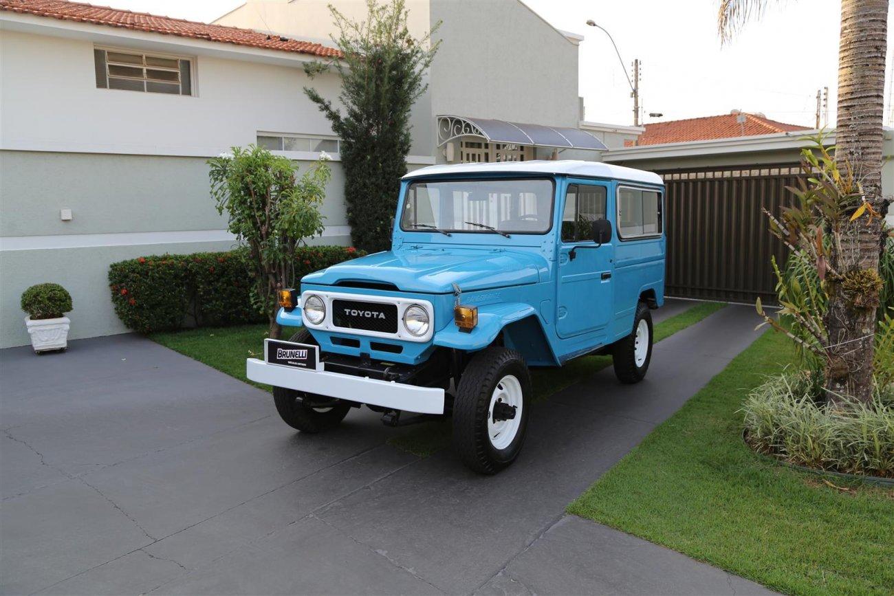 Toyota Bandeirante Jipe Longo