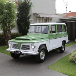 Ford Willys Rural Luxo