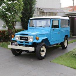Toyota Bandeirante 4x4 Jipe Longo